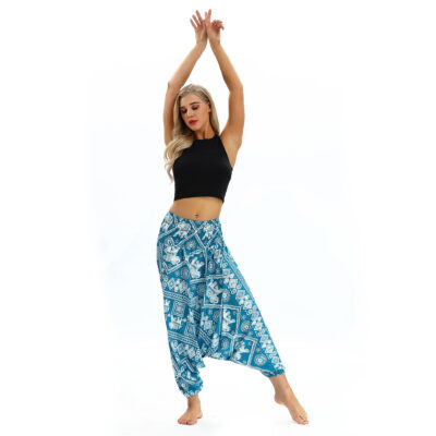 Casual Fashion Jumpsuit Pant with Elephant Anulaa Design